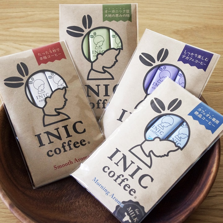 INIC coffee New Life  mini coffee Gift