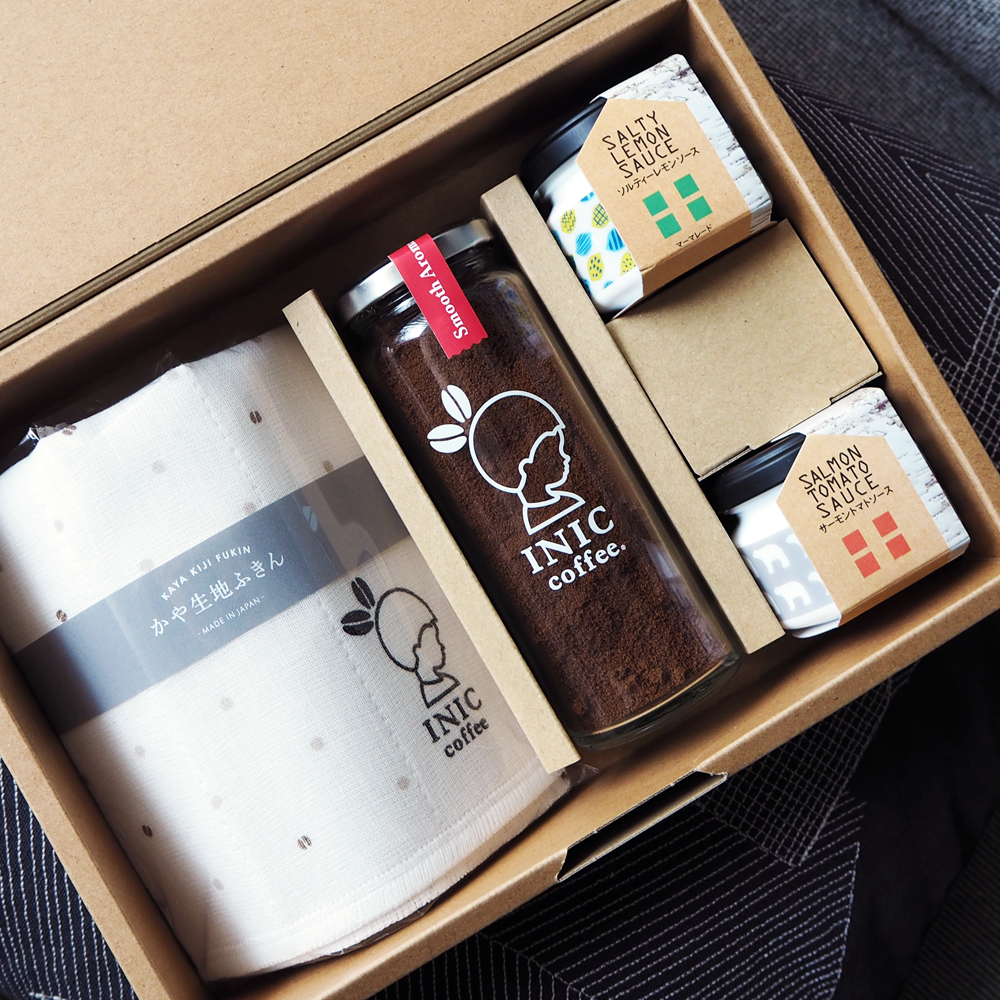 INIC coffee Happy Table Gift